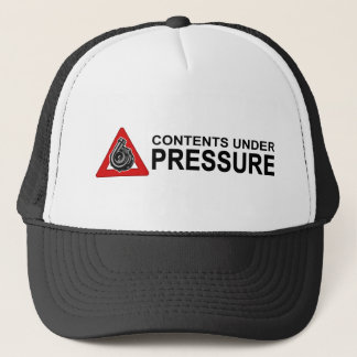 CONTENTS UNDER PRESSURE AL TRUCKER HAT