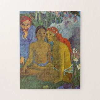 'Contes Barbares' - Paul Gauguin Jigsaw Puzzle