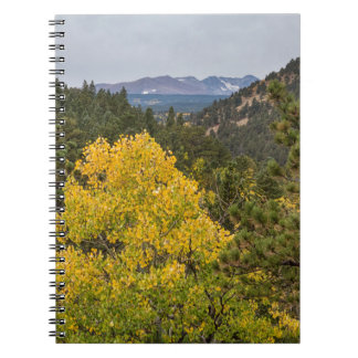 Continental Divide Autumn View Notebook
