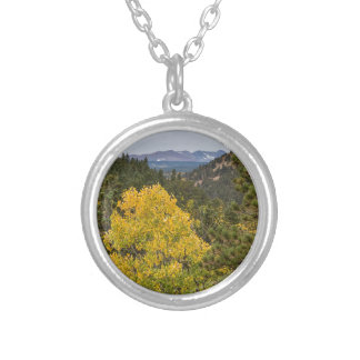 Continental Divide Autumn View Silver Plated Necklace