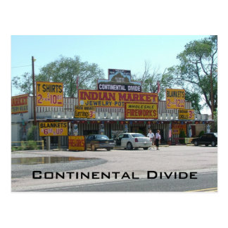 Continental Divide Postcard
