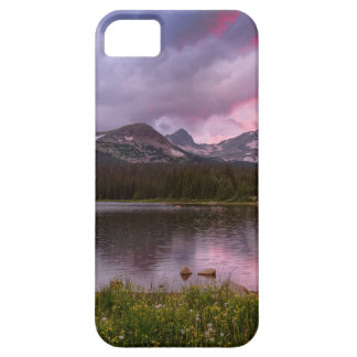 Continental Divide Stormy Rainy Sunset Sky iPhone 5 Case