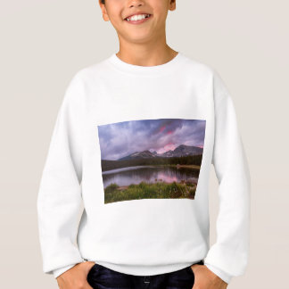 Continental Divide Stormy Rainy Sunset Sky Sweatshirt