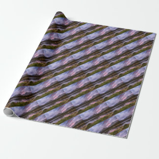 Continental Divide Stormy Rainy Sunset Sky Wrapping Paper