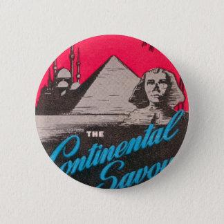 Continental Savoy Cairo Egypt 2 Inch Round Button