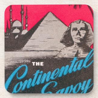 Continental Savoy Cairo Egypt Coaster