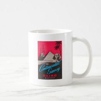 Continental Savoy Cairo Egypt Coffee Mug