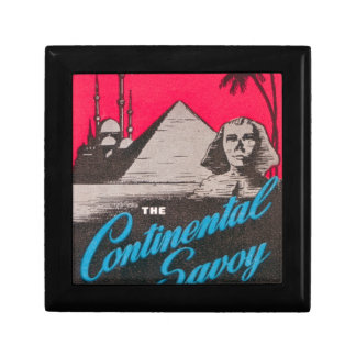 Continental Savoy Cairo Egypt Gift Box