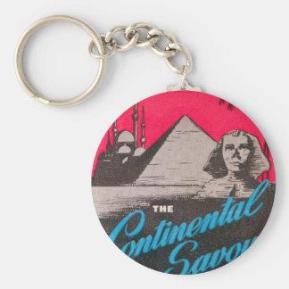 Continental Savoy Cairo Egypt Keychain