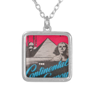 Continental Savoy Cairo Egypt Silver Plated Necklace
