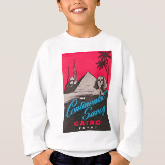 Continental Savoy Cairo Egypt Sweatshirt