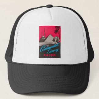 Continental Savoy Cairo Egypt Trucker Hat
