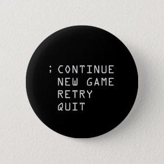 Continue; 2 Inch Round Button