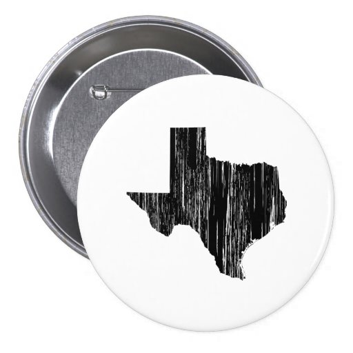 Contour affligé d'état du Texas Badge