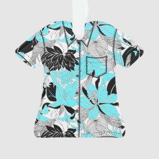 Contour Hawaii Tropical Lily Protea Aloha Shirt