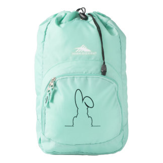 Contour of a hare backpack