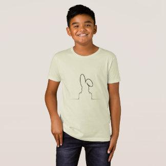 Contour of a hare T-Shirt
