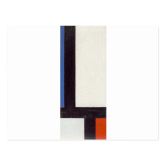 Contra-Composition VII by Theo van Doesburg Postcard