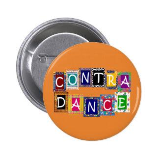 Contra Dance II Button