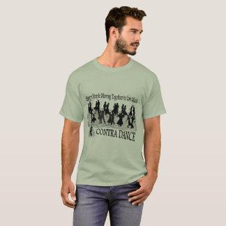 Contra Dance (improved image) - Men's Basic T-Shirt