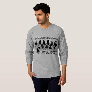 Contra Dance - Men's Long-sleeved T-Shirt