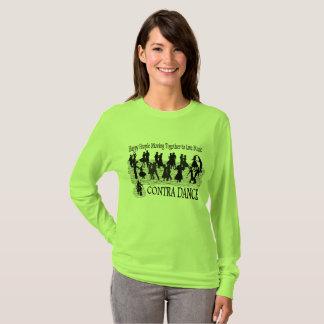 Contra Dance - Women's Long Sleeved T-shirt