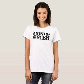 Contra Dancer-Black Lettering T-Shirt