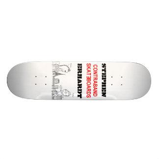 Contraband Skateboards - Stephen Erhardt Doodle
