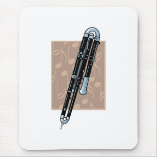contrabassoon design mouse pad