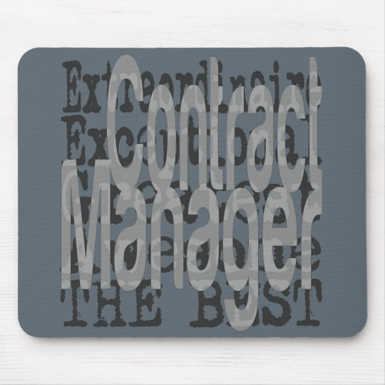 Contract Manager Extraordinaire Mouse Pad