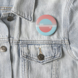 Contrast Living 2 Inch Round Button