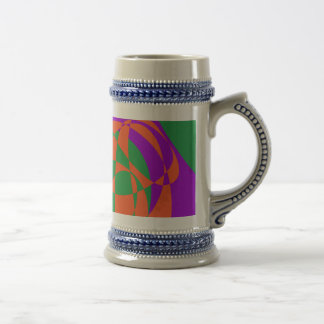 Contrasting Colors Simple Abstract Art Mugs
