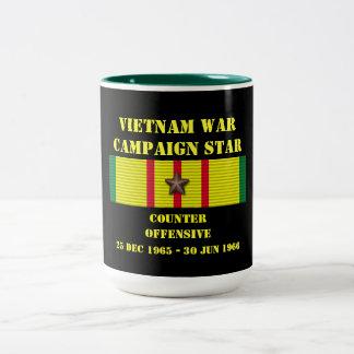 Contre- campagne offensive tasse à café