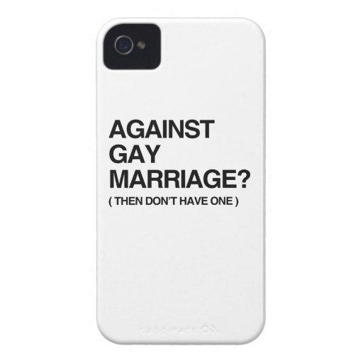 CONTRE LE MARIAGE HOMOSEXUEL - PUIS COQUES iPhone 4