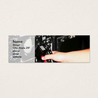 Control Mini Business Card