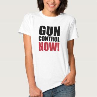 Contrôle des armes maintenant tshirt