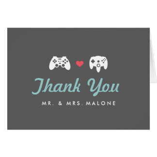 Controller Lover Thank You Card