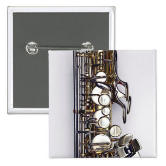 Controls of Saxophone 2 Inch Square Button