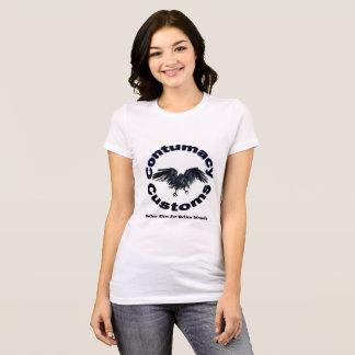 Contumacy Custom T Shirt For Ladies