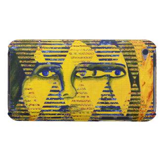 Conundrum II – Golden & Sapphire Goddess iPod Touch Case