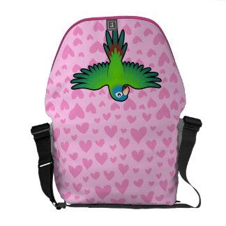 Conure / Lorikeet / Parrot Love Messenger Bag