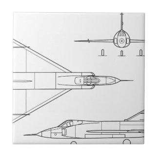 Convair_YF-102_Delta_Dagger_3-view Tile