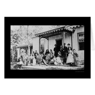 Convalescent Camp near Alexandria, VA 1865 Card