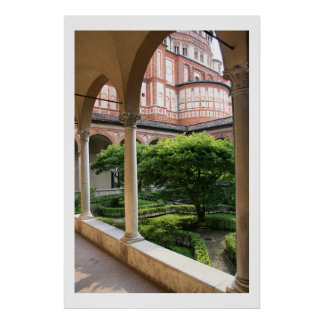 Convent Courtyard Print