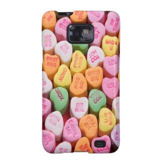 Conversation Hearts Samsung Galaxy SII Cases