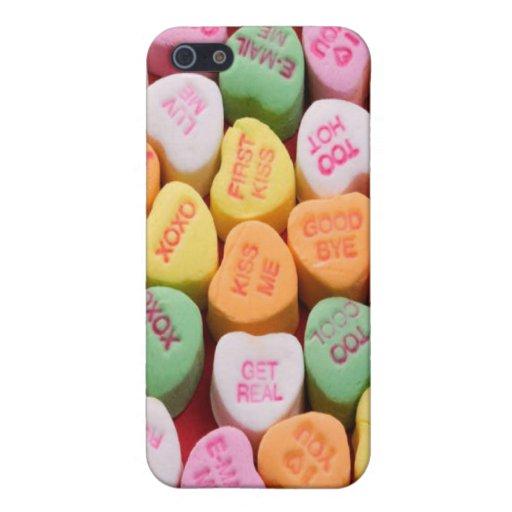 Conversation Hearts iPhone 4/4S Case