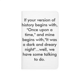 Conversation Starter Notebook Journals