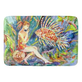 Conversation with a Fish Bath Mat