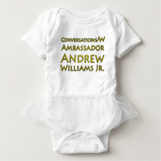 Conversations w/Ambassador Andrew Williams Jr. Baby Bodysuit