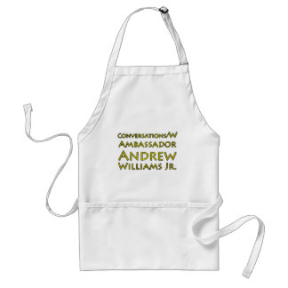 Conversations w/Ambassador Andrew Williams Jr. Standard Apron